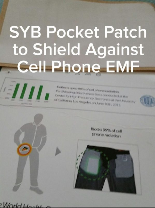 SYB Pocket Patch to Shield Against Cell Phone EMF