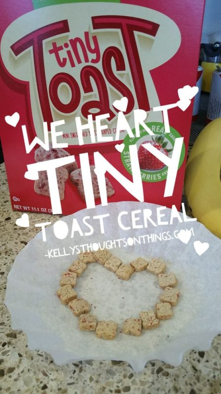 Be the cool mom with Tiny Toast cereal at Kroger! #TinyToastCereal #ad #Kroger