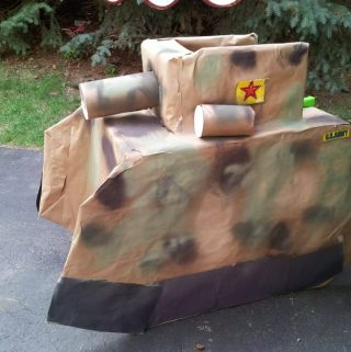 How to Build a Tank for a Birthday Party!