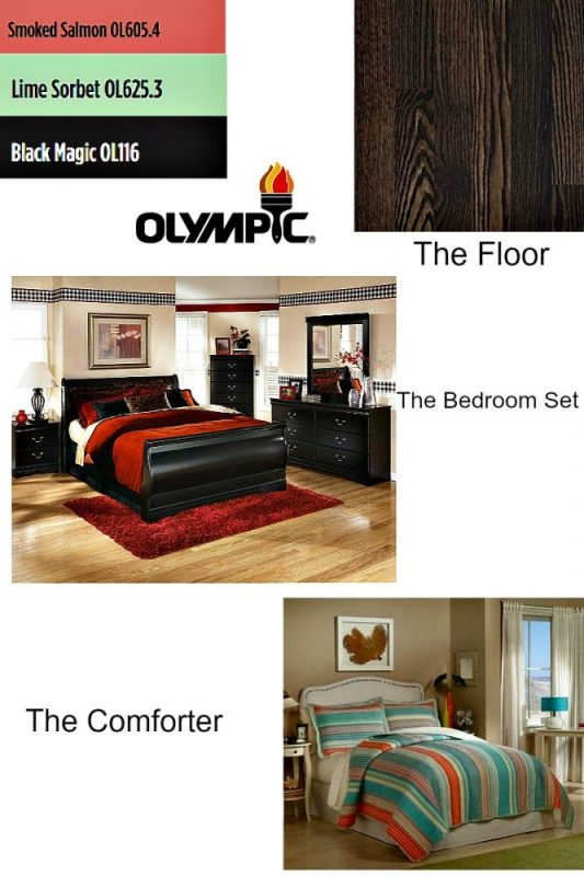 Mood Board Olympic Paints