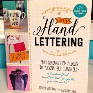 DIY Hand Lettering You Can Do At Home
