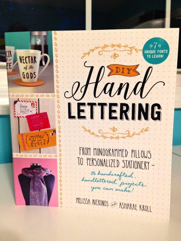 DIY Hand Lettering You Can Do At Home - DIY Hand Lettering by Melissa Averinos and Asharae Kroll