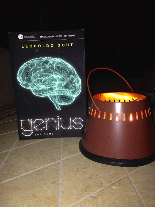 Techie YA Read For Your Summer Pleasure - Genius The Game by Leopoldo Gout