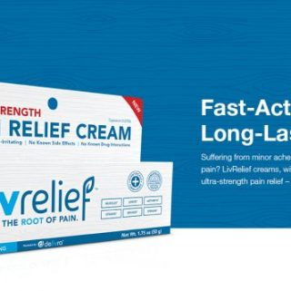 Fast-Acting & Long Lasting Pain Relief  #TryLivRelief