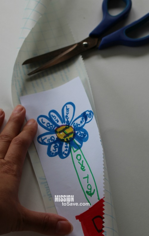 Easy DIY Bookmarks by Mission to Save