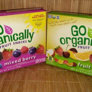 Organic Fruit Snacks are full of flavor!