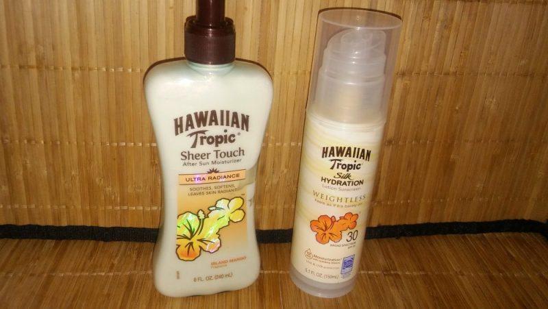 Hawaiian Tropic stay burn safe