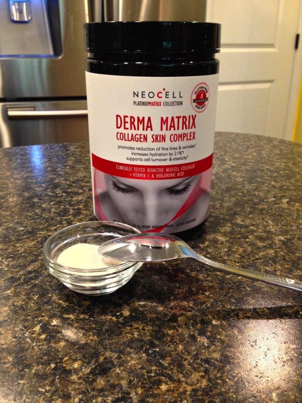 Get Your Collagen As Easy as 1-2-3 --- Neocell Derma Matrix Collagen Skin Complex