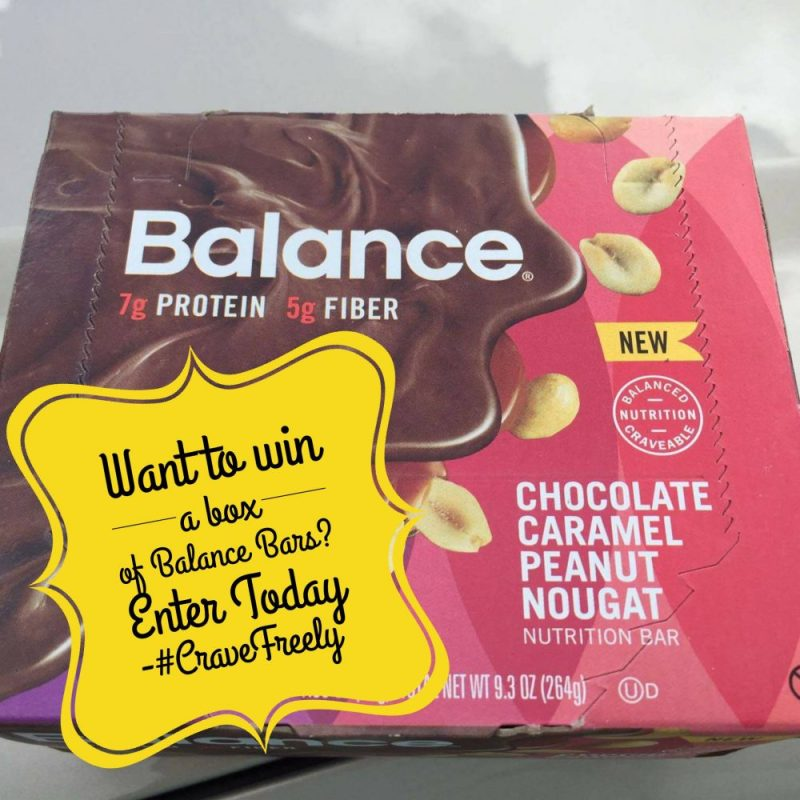 Win a BOX of Balance Bars