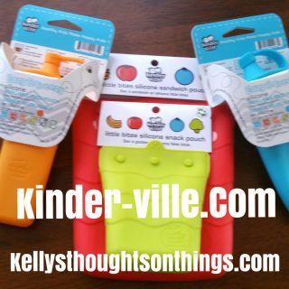 Yes, No More Baggies!  Kinder-ville Food Pouches