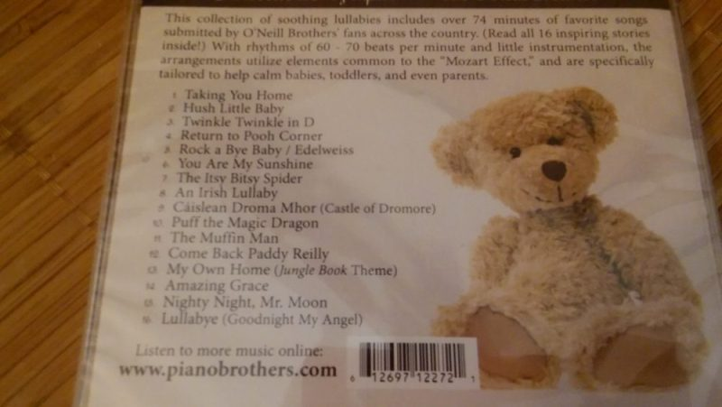 O'Neill brothers piano duets