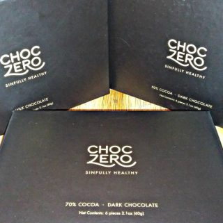 Eat Chocolate without the guilt with ChocZero