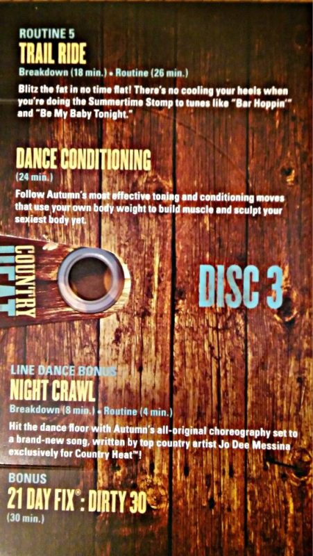 Country Heat Dvd inside cover