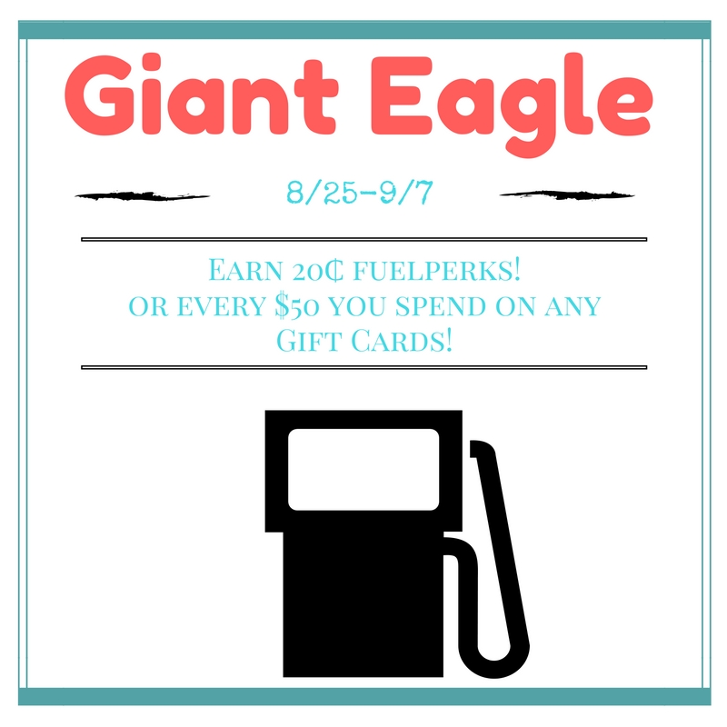 Giant Eagle: Get REWARDS for Buying Gift Cards #GEendosummrgift