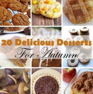 Delicious Desserts For Autumn