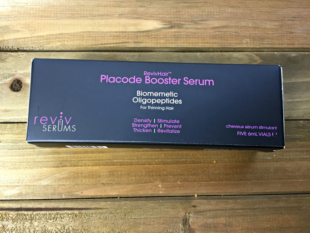 Special Exclusive RevivHair Placode Booster Review #RevivHair