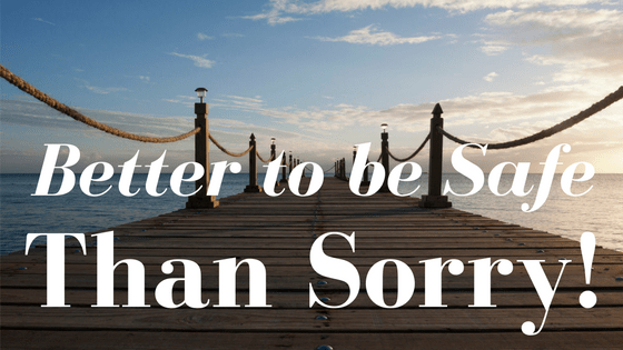 Better To Be Safe Than Sorry! #MaintainYourLifestyle #ad