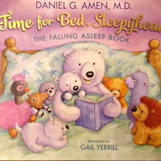 Time for bed, sleepyhead! Help your kids fall asleep!