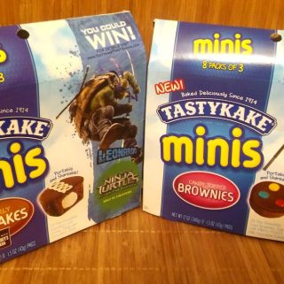 TastyKakes have a mini snack with gigantic flavor!