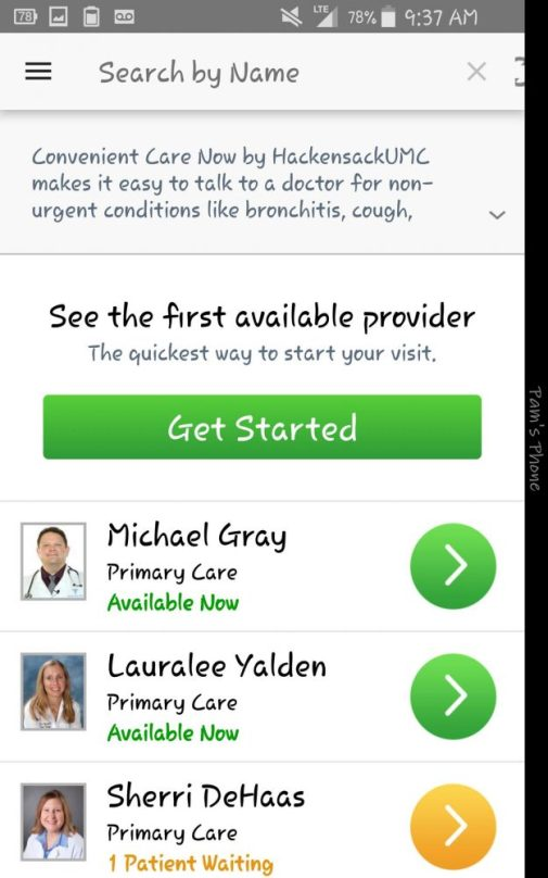 Convenient Care Now by Hackensack University Health Network