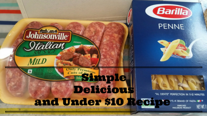 Simple Delicious and Under $10 Dinner Recipe