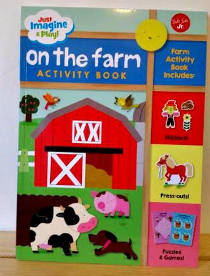 On the Farm Activity Book