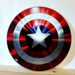 Show Your Geek with Captain America Shield Cutting Board