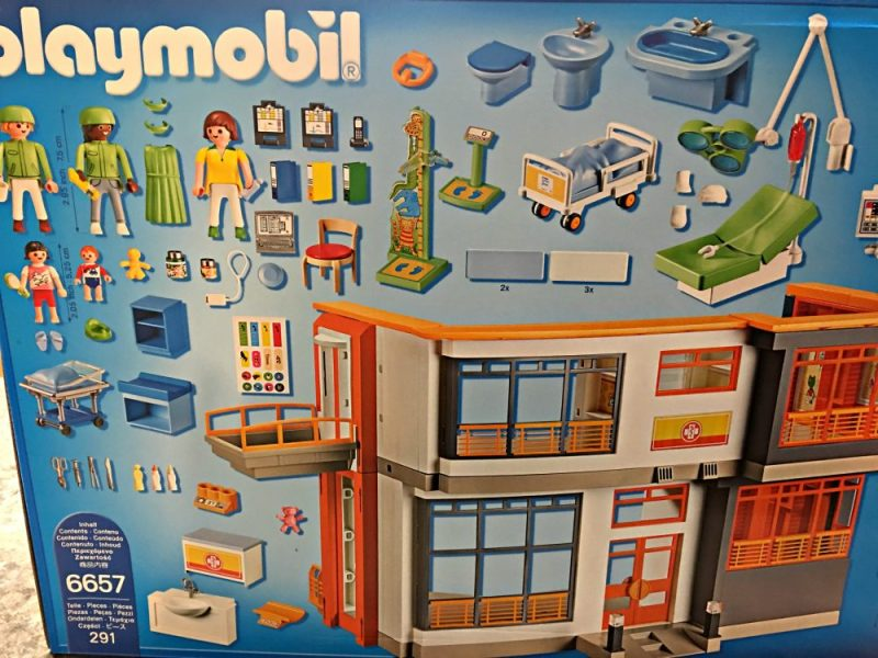 The Playroom Is Fully Equipped With Playsets