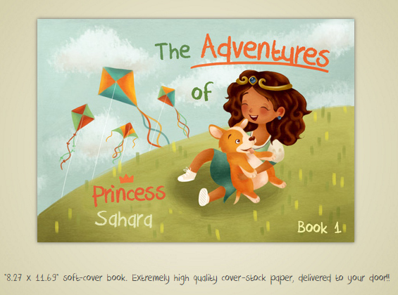 Create YOUR OWN Book- Princess and the Bully