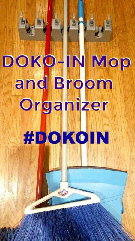 DOKO-IN Mop and Broom Organizer #dokoin