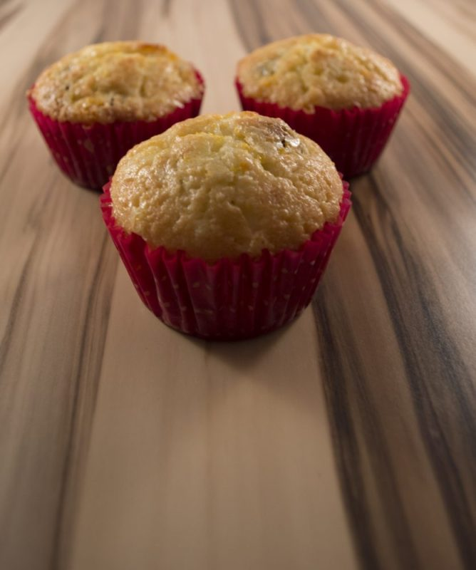 Homemade Orange Cranberry Muffins (recipe)