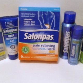 SALONPAS® Patches And Sprays Help Relieve Aches And Pains