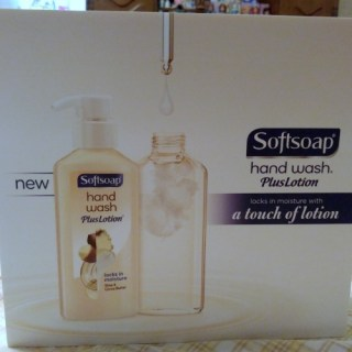 Softsoap Hand Wash  Plus Lotion Helps Keep Your Hands Feeling Loved