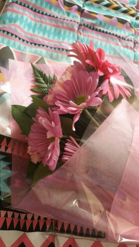 The Simplest Way to Give- Spoil App (Free) - My beautiful flowers I got!