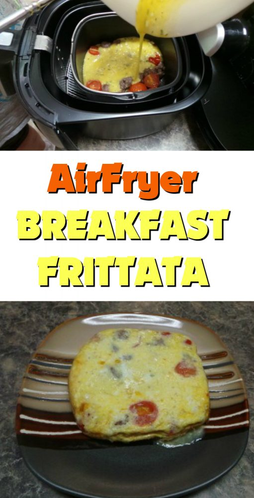 I had a wonderful time last month trying out the Philips Airfryer while attending the virtual event with MasterChef Luca Manfe. He taught me how to make a breakfast frittata using the AirFryer, something I never thought I would make.