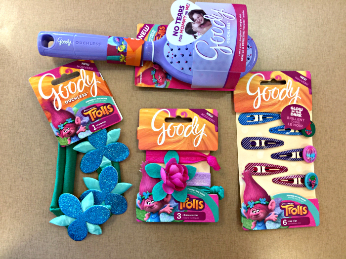 Goody Dreamworks Trolls Hair Accessories