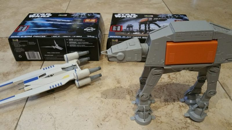 Revell Build-your-own Star Wars vehicles