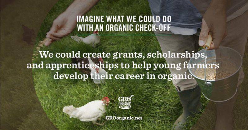 Farm bill organic check off