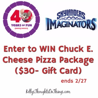Chuck E. Cheese is celebrating 40 years of FUN! (Giveaway)