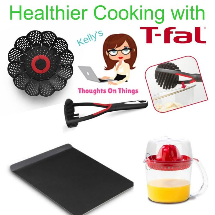 Healthier cooking tfal products