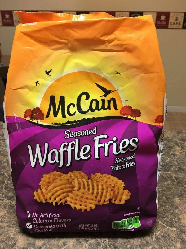 FUN but simple snack use Waffle Fries