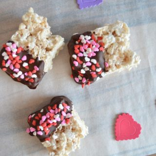 Valentine Cereal Bars Recipe