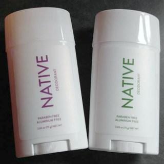Feminine Masculine And Seasonal Scents From Native Deodorant