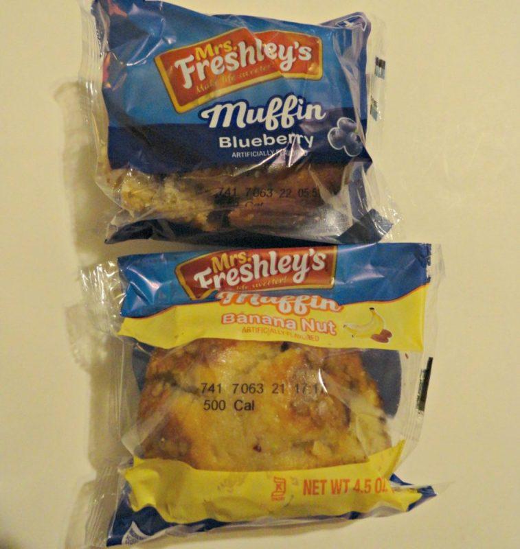 Mrs. Freshleys muffins smile