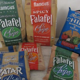 Found! Falafel Chips For Hummus and Assorted Dips