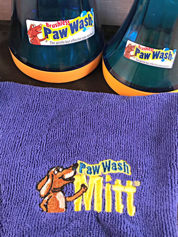 The Paw Wash - prevent dirty paw prints