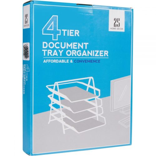 4-Letter Tray Office Desk Organizer by 25 Home Decor.