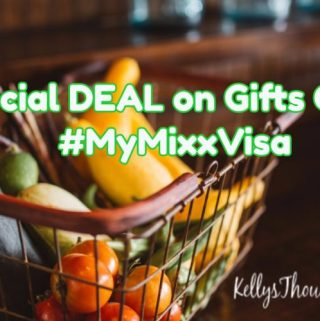 Special DEAL on Gifts Cards #MyMixxVisa (Giveaway)