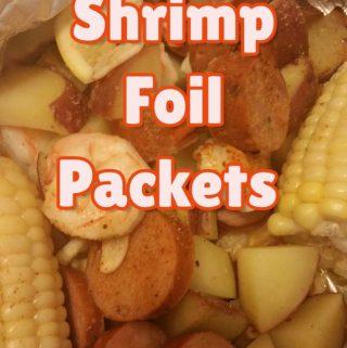 Shrimp Foil Packet- Easy Dinner