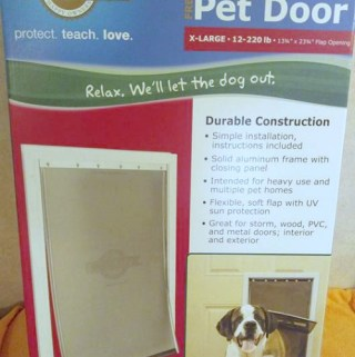 PetSafe Brand Pet Door Gives You And Your Pet Freedom